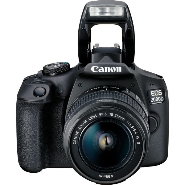 A Photo Canon EOS 2000D (Black) 18-55DC (24.1 Mega pixel Wifi)
