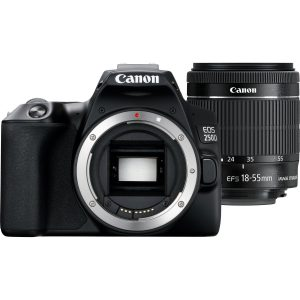 A Photo Canon EOS 250D (Black) 18-55 DC
