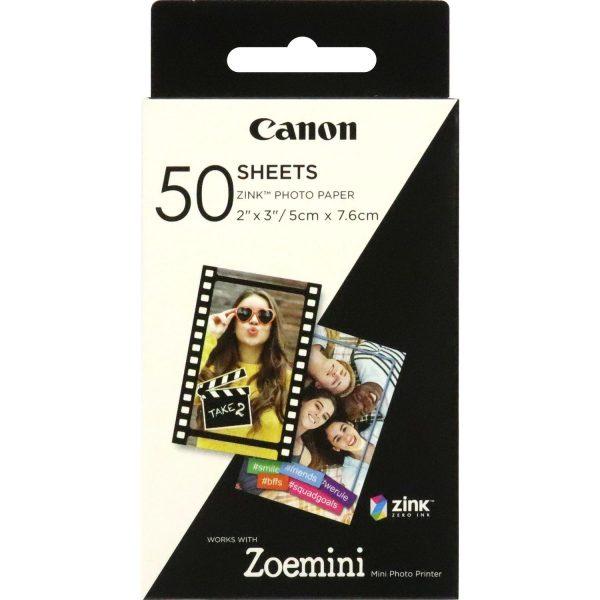 Consommable Zink Paper ZP-2030 50 feuilles pour Zoe Mini