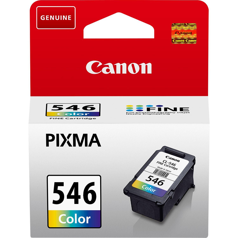 Cartouche d'encre couleur C/M/Y Canon CL-546